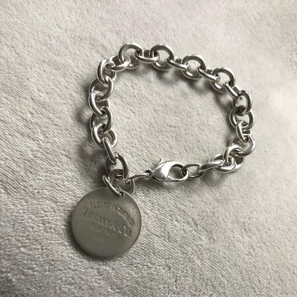 fb71628e1 Tiffany & Co. Jewelry | Tiffany Co Sterling Silver Link Bracelet ...